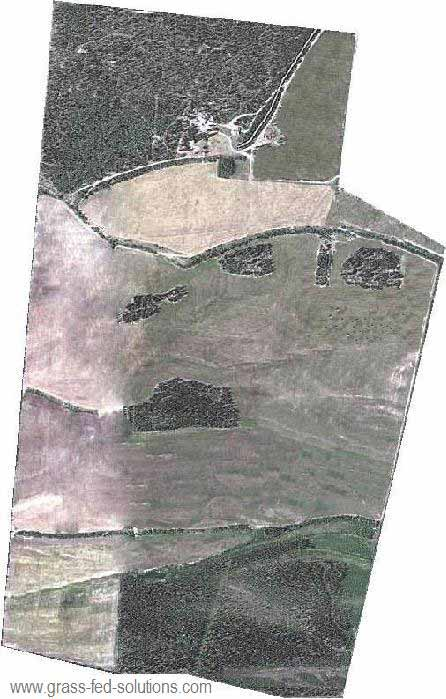 Example Farm Plan: air photo underlay