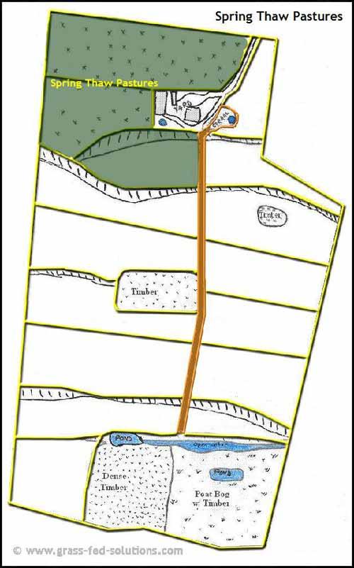 Example Farm Plan: spring thaw pastures